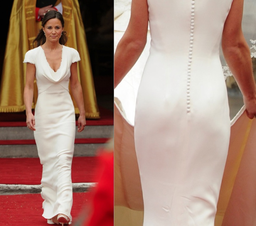 Pippa Middleton Blanco Boda Kate